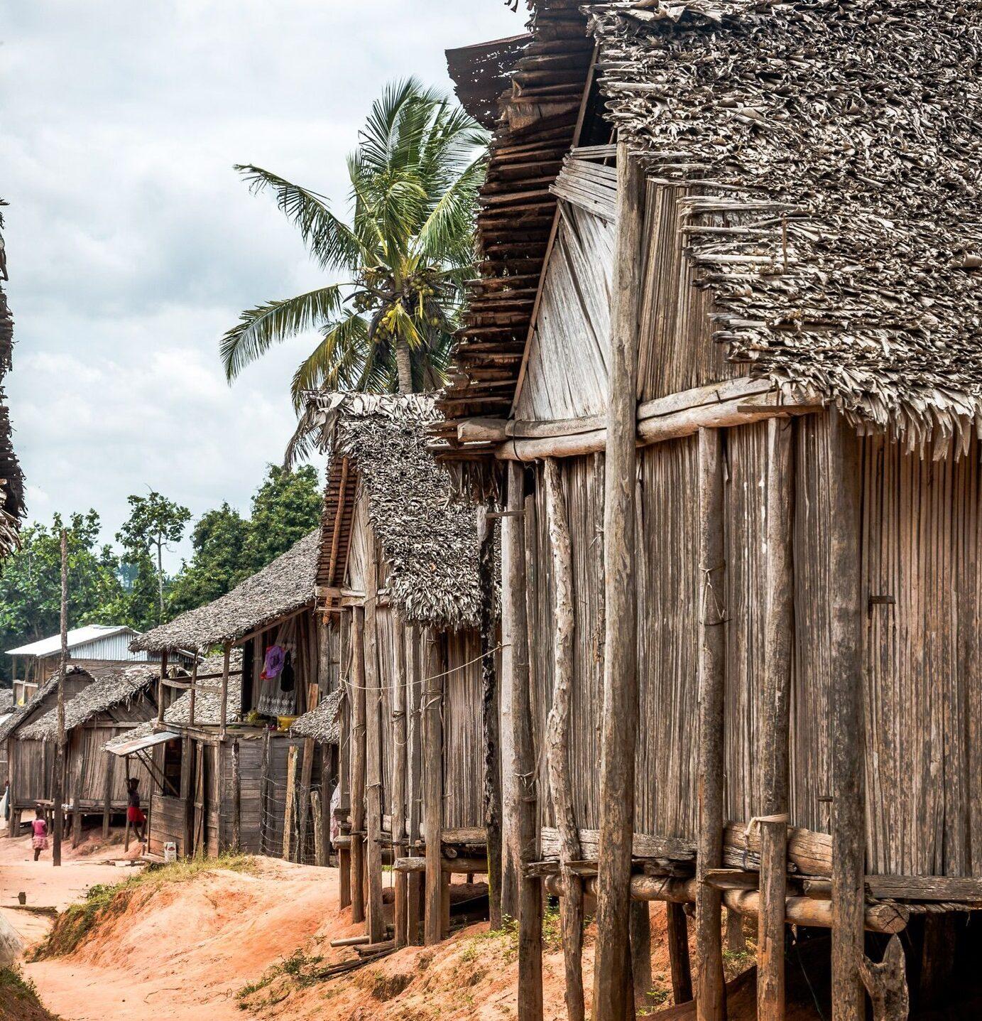 Cases etsimisaraka sur la côte Est
